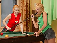 Lesbian billiards