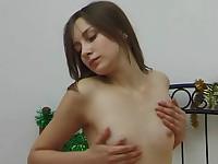 Her sensitive nipples