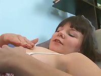 Masturbating on the couch