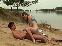 Fucking at the lakeside