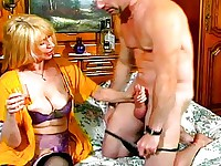 Hot MILF In Lingerie Takes Hard Raw Cock