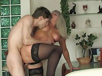 Jessica and Jerome gorgeous mom on video