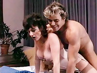 Jerry Butler doggy fucks a hot brunette chick