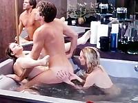 Nasty bathtub fuck with 80s porn star Eric Edwards