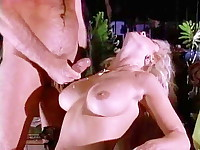 Curvy-figured natural looking eighties porn star