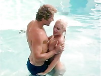 Vintage erotica video shows blonde dreaming of sex