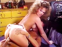 Hot titted gal best riding session