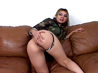 Seductive army slut Catalina