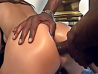 Venus gets her white butt fucked hard