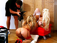 Silvia And Stacey Silver - Two Hot Blondes