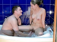 Steamy and foamy couplesex
