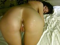 He penetrates her hot ass