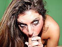 Slut Tiffany Summers Sucks A Huge Cock