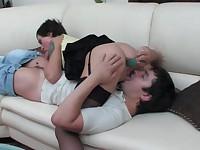 Mia and Adam kinky anal video