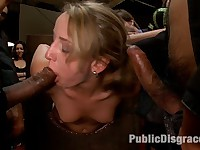 20 year old Jessie Cox is bound in tape, face fucked, and gang banged Actors: Jessie Cox, Nat Turner, Justin Long