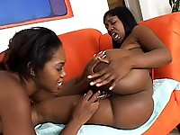 Black babes making each other cum hard