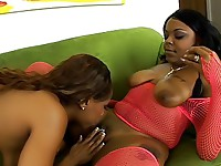 Black lesbians fuck with big dildos