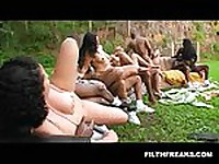 Brazil Backyard Orgy 2e