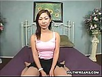 kungpaopussy.com presents: Daisy looks like your average every day innocent Asian girl but she has a wild side too! She sucks dick and fucks like a real pro!