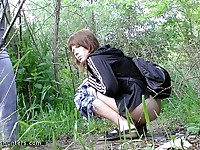 Nubile on piss cam