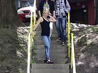 Stairway wetting spot