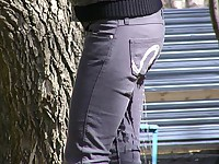 Sudden jeans wetting