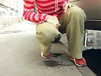 Public pissing fail
