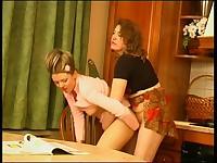 Rebecca and Rosaline vivid lesbian mature action