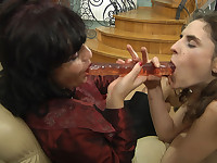 Frances and Agatha mature in lesbian action
