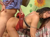 Regina and Jack kinky mom on video