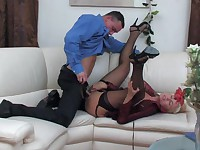 Bridget and Connor red hot mature action
