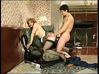 Penelope and Adam horny mom in action