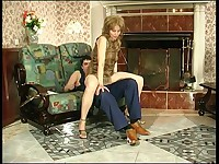 Penelope and Adam naughty mature movie