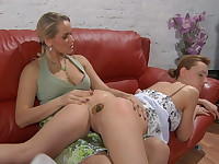 Susanna and Rosa great anal lesbian video