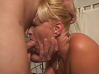 MILF Erica Throat Fucked