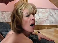 MILF Enjoys Rough Sex