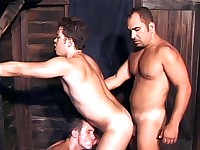 Cock Slurping Gay Group Bang