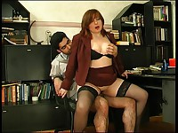 Laura and Sebastian raunchy mature video