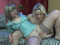 Ethel and Susanna mindblowing lesbian action