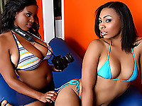 Alia Starr and Anita Peida: Hottest Ebony Lesbians. EVER.