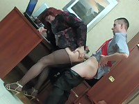 Rudolf and Alan kinky gay crossdresser action