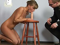Teen undressed plaything of nasty staff managers