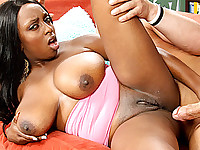 Alisha Madison Creamed On Her Big Jugs