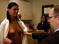 Alissa Kollar goes to the doctor for a boob job