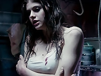 Alexandra Daddario Exposing Her Big Boobs
