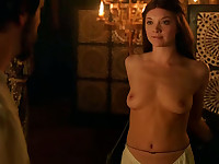 Natalie Dormer goes topless seducing her gay husband