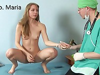 Everything she needs is a certificate of health for the swimming pool. Everything the male doctor needs is some fun. Of course, such a big disagreement causes a doctor-patient tension, making the nude girl angry and exciting the doctor very much. And, of course, don't forget about deep speculum insertion, rectal exam with fingers and a thermometer and nude gymnastics tests! So fucking hot!