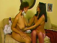 Retro lesbian pleasure