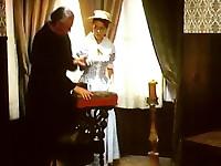 Priest sucked by a Heidi