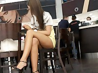 Teenager fishnet upskirt hq video